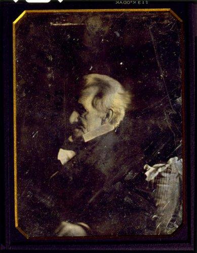Daguerrotip d'Andrew Jackson ja major, el 1844.
