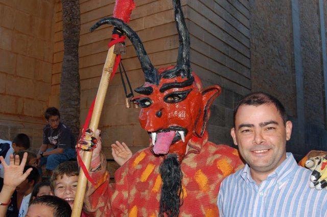 El dimoni vell de Ses Salines es fotografià amb jo